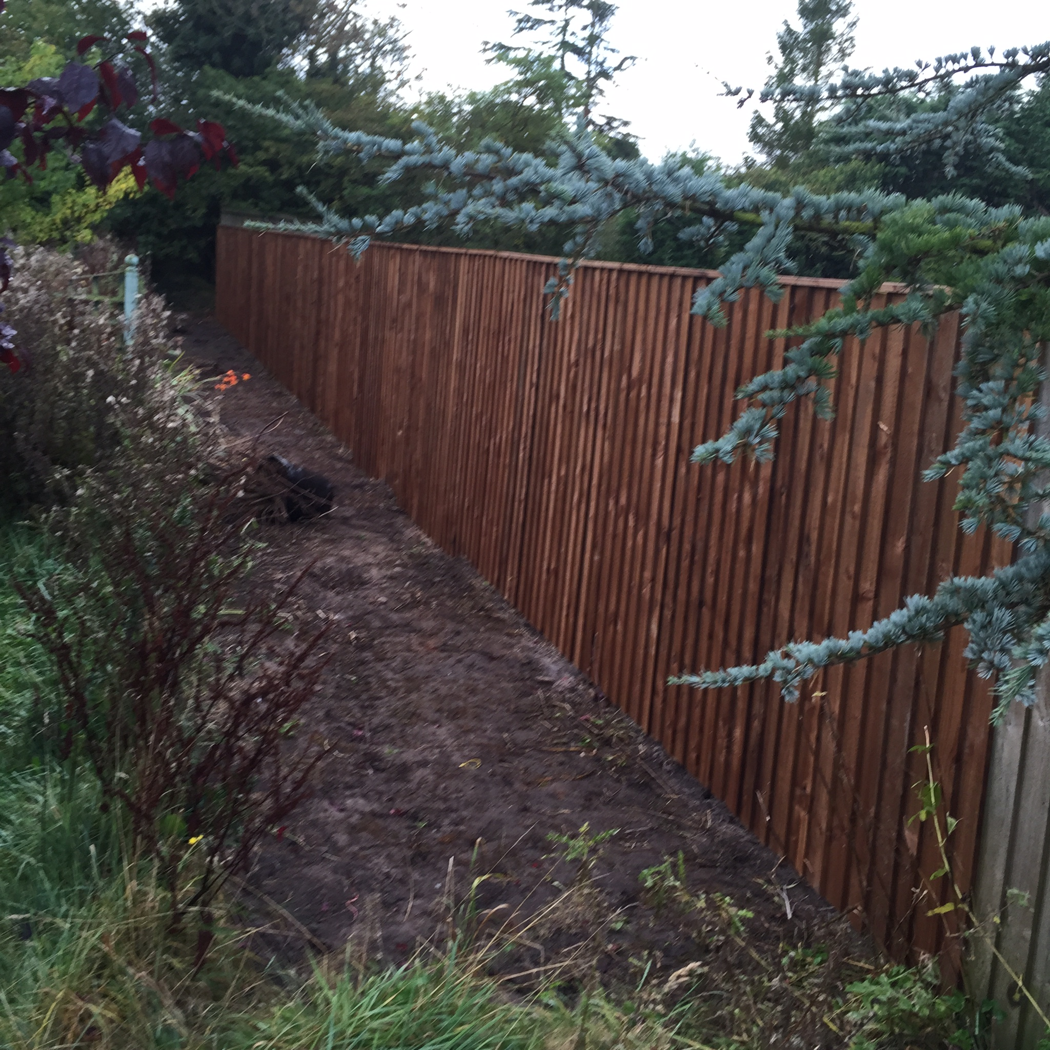 Wooden Fence supply and installation in Dalton Lancashire - PJC