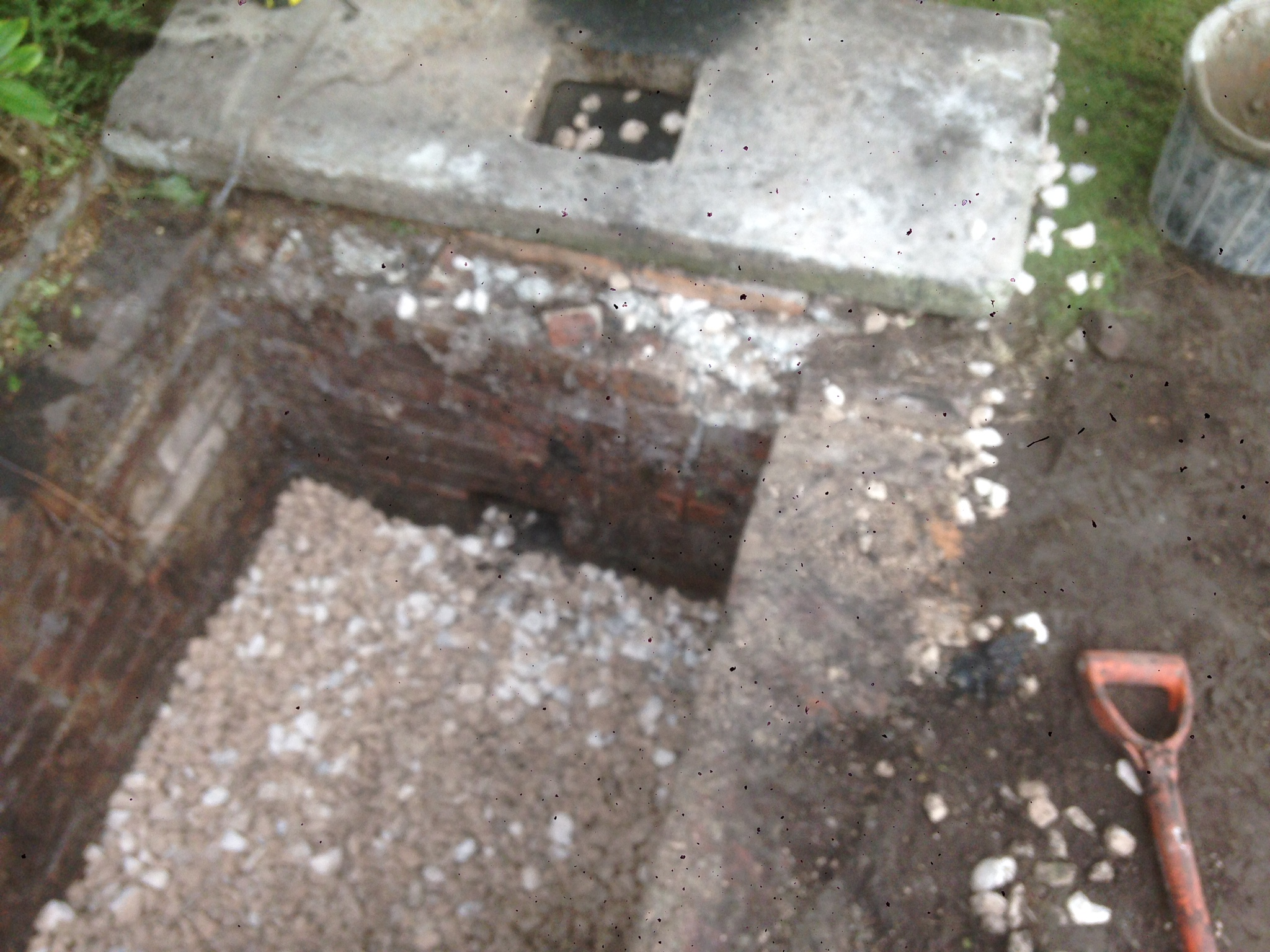 Brick Septic Tank Repair Burscough Pjc Groundworks
