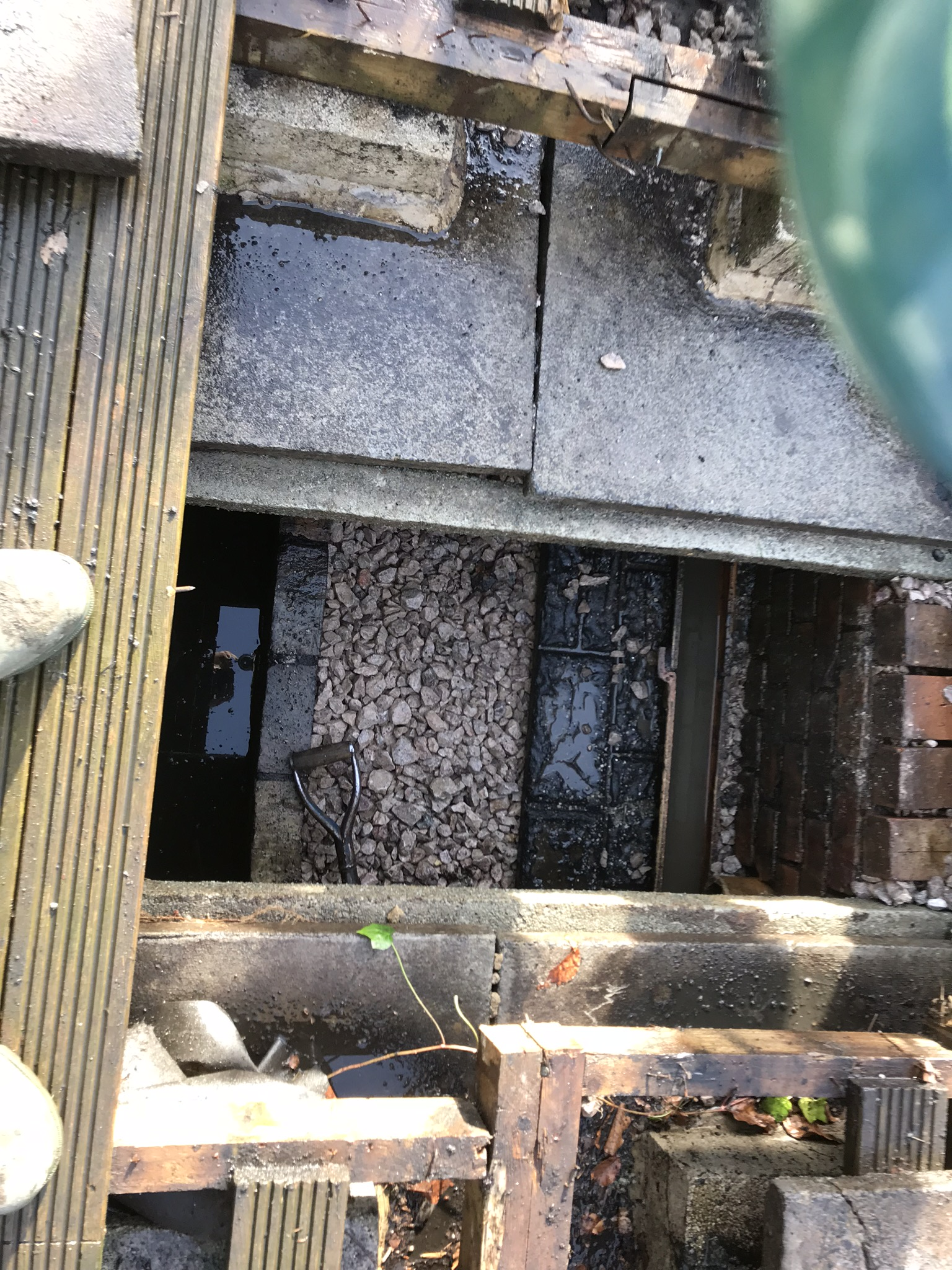 Blocked Septic Tank Filter Bed Repaired By Pjc Groundworks